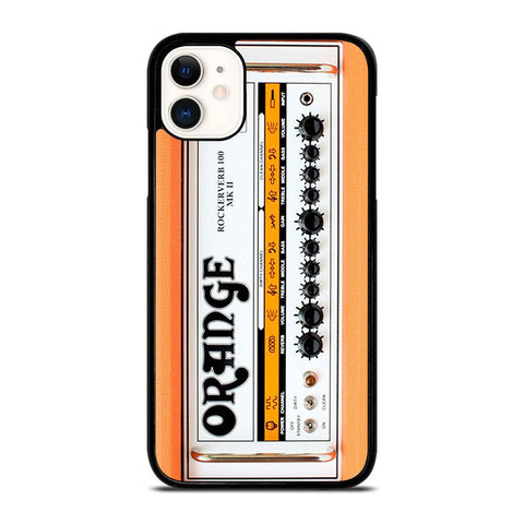ORANGE GUITAR BASS AMP HEAD-iphone-11-case-cover