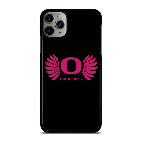 OREGON DUCKS PINK GIRL-iphone-11-pro-max-case-cover