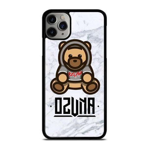OZUNA BEAR MARBLE-iphone-11-pro-max-case-cover