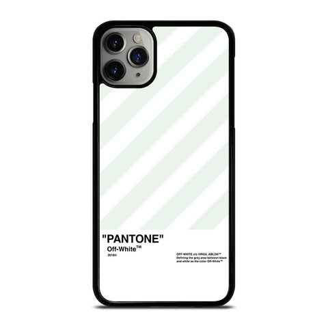 PANTONE OFF WHITE-iphone-11-pro-max-case-cover