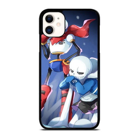 PAPYRUS AND SANIS UNDERTALE-iphone-11-case-cover