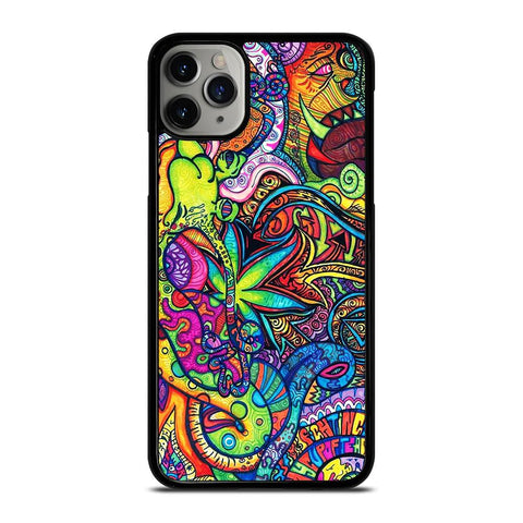 PASTEL ABSTRACT PSYCHEDELIC-iphone-11-pro-max-case-cover