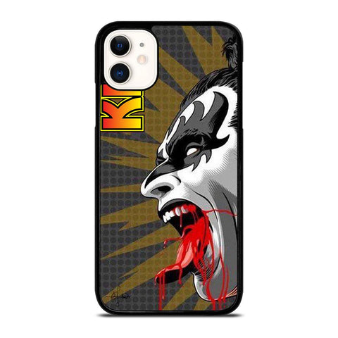 PAUL STANLEY KISS BAND-iphone-11-case-cover