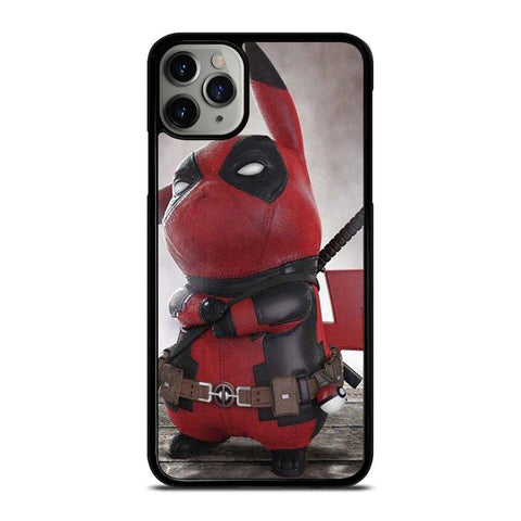 PIKACHU POKEMON DEADPOOL-iphone-11-pro-max-case-cover