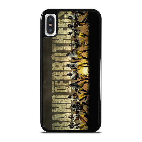 PITTSBURGH STEELERS BAND OF BROTHERS-iphone-x-case-cover