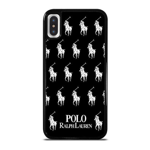 POLO RALPH LAUREN COLLAGE LOGO,-iphone-x-case-cover
