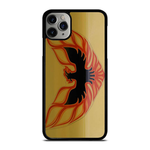 PONTIAC FIREBIRD LOGO GOLD-iphone-11-pro-max-case-cover