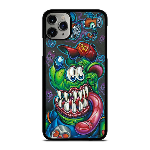 RAT FINK STINKY MONKEY-iphone-11-pro-max-case-cover