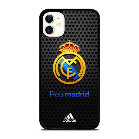 REAL MADRID FC METAL LOGO-iphone-11-case-cover