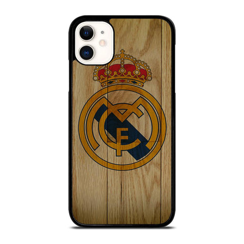 REAL MADRID FC WOODEN-iphone-11-case-cover