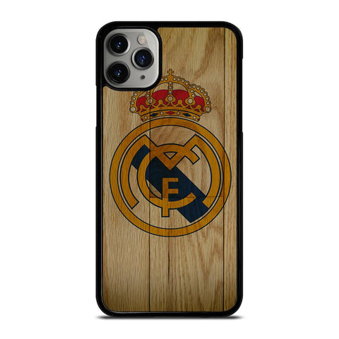 REAL MADRID FC WOODEN-iphone-11-pro-max-case-cover