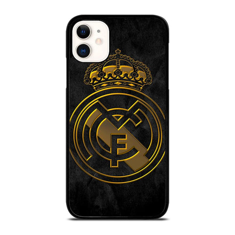 REAL MADRID GOLD-iphone-11-case-cover