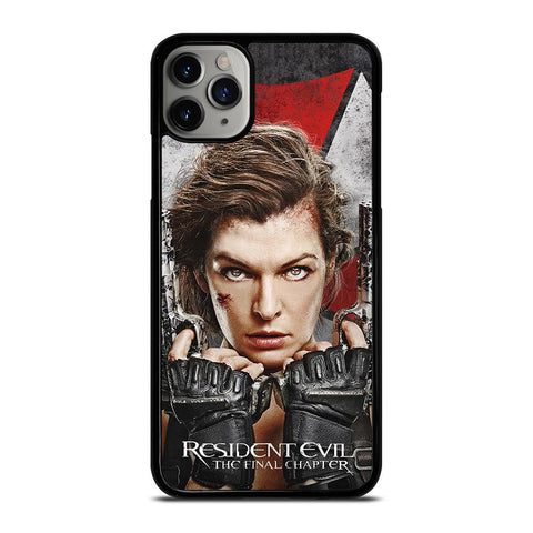 RESIDENT EVIL FINAL CHAPTER-iphone-11-pro-max-case-cover