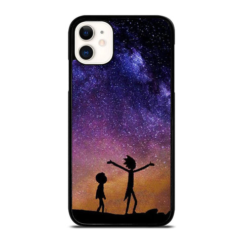 RICK AND MORTY GALAXY-iphone-11-case-cover