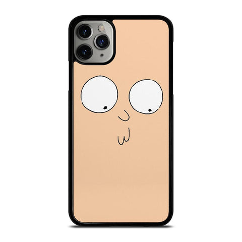 RICK AND MORTY STUPID FACE-iphone-11-pro-max-case-cover