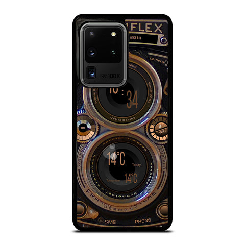 ROLLEIFLEX VINTAGE CAMERA Samsung Galaxy S20 Ultra Case Cover