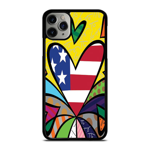 ROMERO BRITTO LOVE NEW 2-iphone-11-pro-max-case-cover