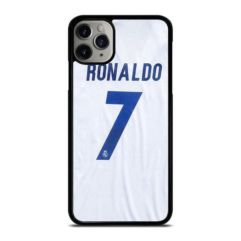 RONALDO CR7 JERSEY REAL MADRID-iphone-11-pro-max-case-cover