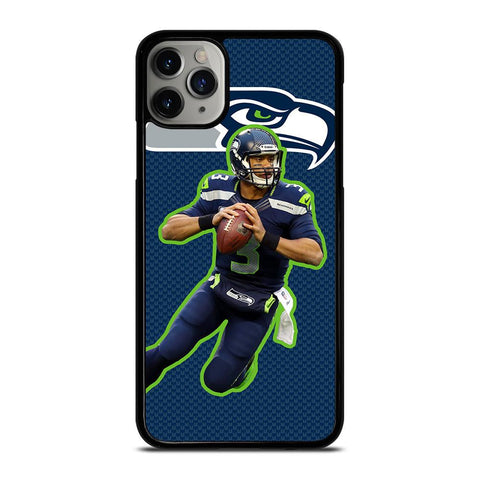 RUSSELL WILSON SEATTLE SEAHAWKS-iphone-11-pro-max-case-cover
