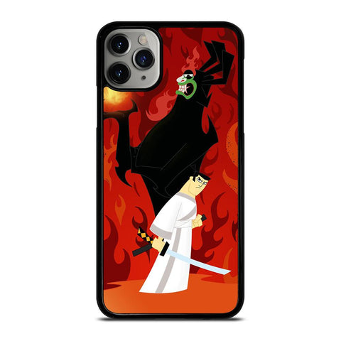 SAMURAI JACK BATTLE AKU-iphone-11-pro-max-case-cover