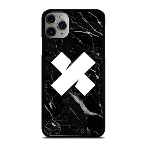 SAM AND COLBY MARBLE LOGO-iphone-11-pro-max-case-cover