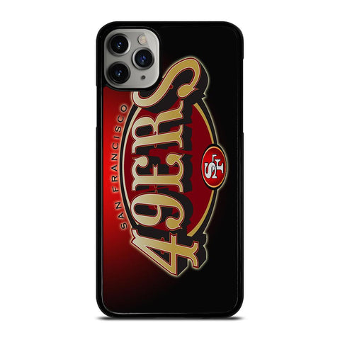 SAN FRANCISCO 49ERS LOGO-iphone-11-pro-max-case-cover