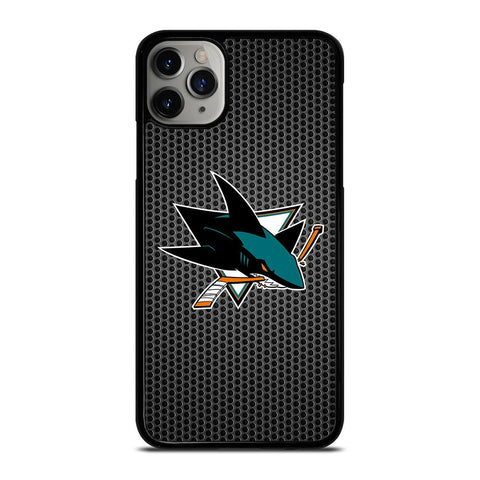 SAN JOSE SHARKS METAL-iphone-11-pro-max-case-cover