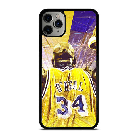 SHAQUILLE O'NEAL LA LAKERS-iphone-11-pro-max-case-cover