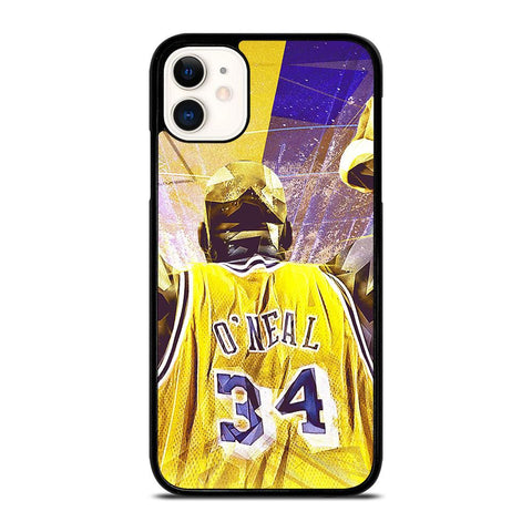SHAQUILLE O'NEAL LA LAKERS-iphone-11-case-cover