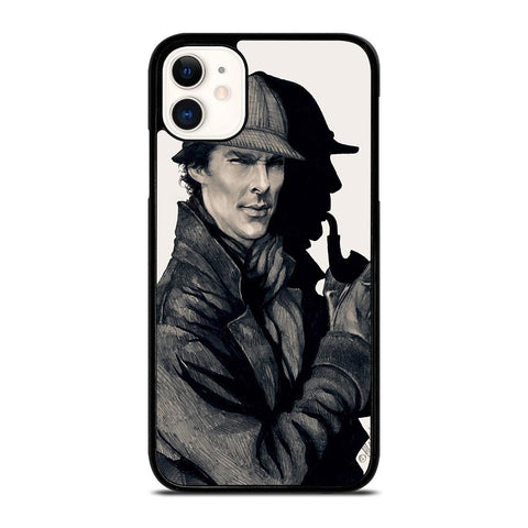 SHERLOCK HOLMES ART-iphone-11-case-cover