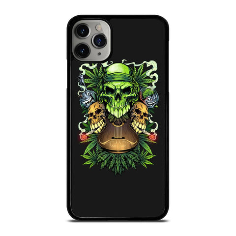 SKULL WEED-iphone-11-pro-max-case-cover