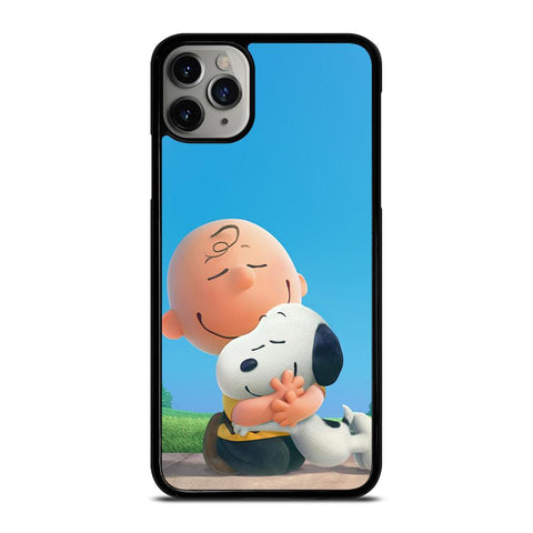 SNOOPY AND CHARLIE BROWN THE PEANUTS-iphone-11-pro-max-case-cover