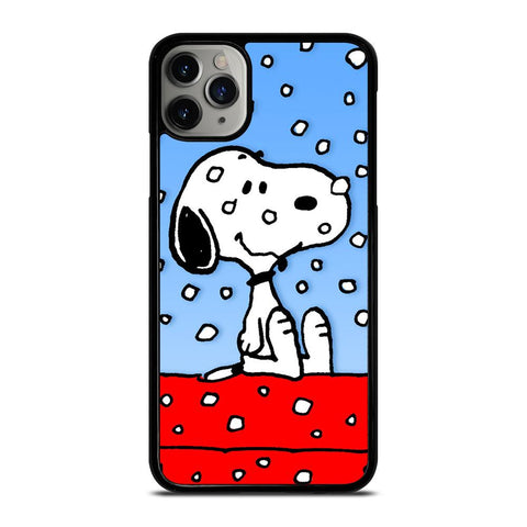 SNOOPY DOG CHRISTMAS-iphone-11-pro-max-case-cover