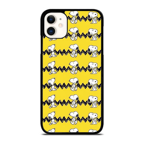 SNOOPY DOG COLLAGE-iphone-11-case-cover