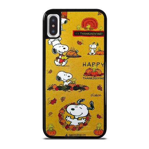 SNOOPY-THE-PEANUTS-THANKSGIVING-iphone-x-case-cover
