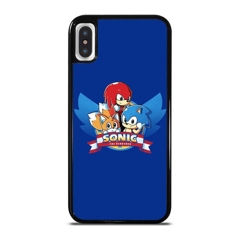SONIC THE HEDGEHOG AND TAILS 2-iphone-x-case-cover