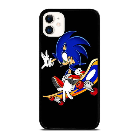 SONIC THE HEDGEHOG SKATEBOARD-iphone-11-case-cover