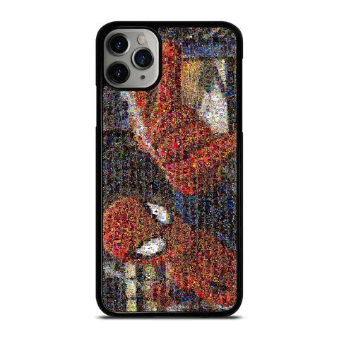SPIDERMAN ART COLLAGE-iphone-11-pro-max-case-cover