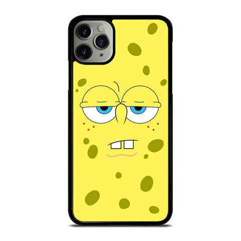 SPONGE BOB EXPRESSION FACE-iphone-11-pro-max-case-cover