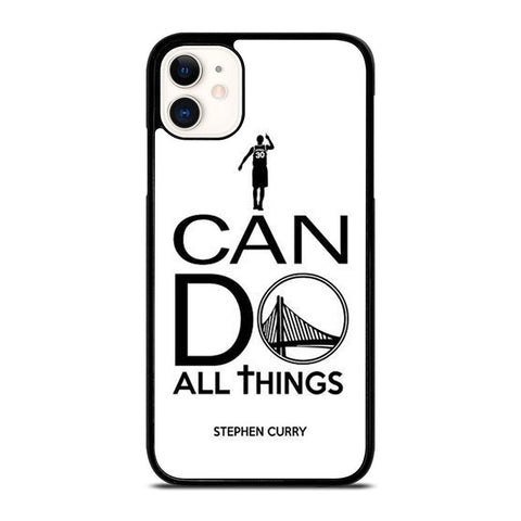 STEPHEN CURRY I CAN DO-iphone-11-case-cover