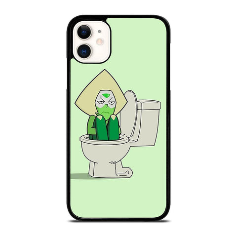 STEVEN UNIVERSE PERIDOT IN TOILET-iphone-11-case-cover