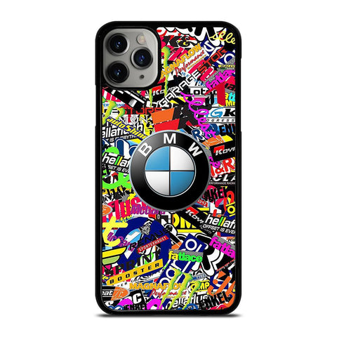 STICKER BOMB BMW LOGO-iphone-11-pro-max-case-cover