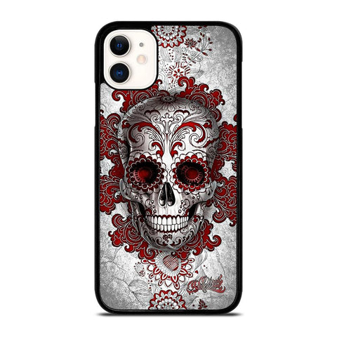 SUGAR SKULL TATTOO 2-iphone-11-case-cover