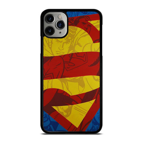 SUPERMAN LOGO COMIC-iphone-11-pro-max-case-cover