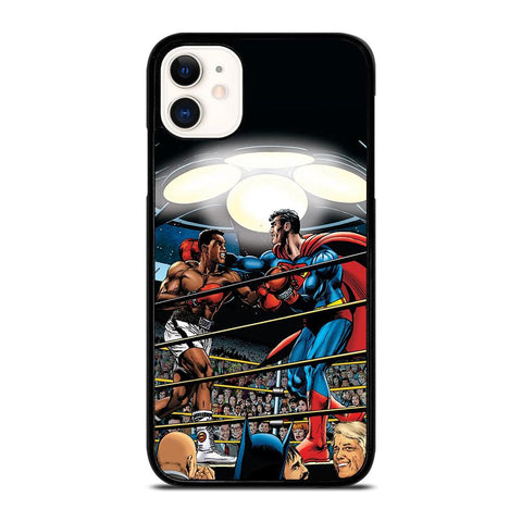 SUPERMAN VS MUHAMMAD ALI-iphone-11-case-cover