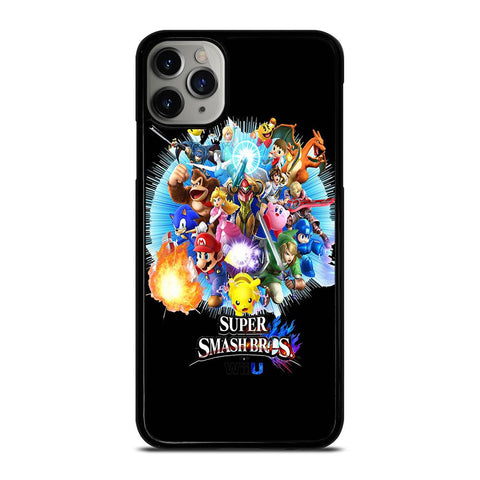 SUPER SMASH BROS WIIU-iphone-11-pro-max-case-cover