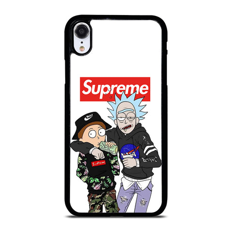 SUPREME RICK AND MORTY iPhone XR Case Cover