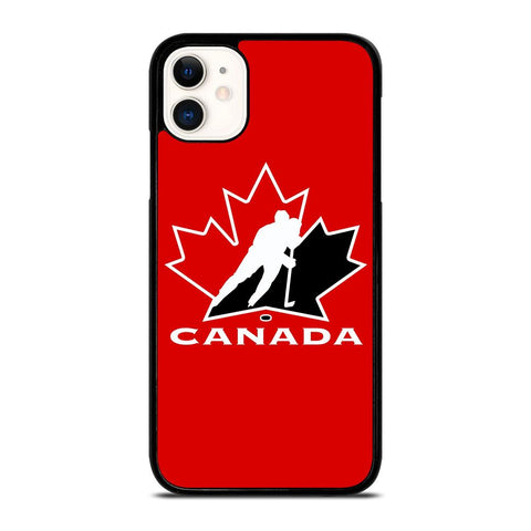 TEAM CANADA HOCKEY LOGO-iphone-11-case-cover