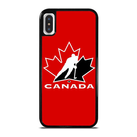 TEAM CANADA HOCKEY LOGO iPhone X / XS Case - Best Custom Phone Cover Cool Personalized Design
