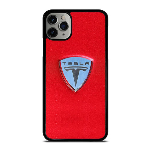 TESLA MOTOR LOGO-iphone-11-pro-max-case-cover